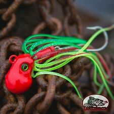"11oz Heavy ""Rasta"" octopus Fishing Lure Jig Lingcod Snapper Halibut Grouper Cod"