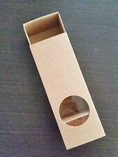 Eco Friendly Brown Macaron Boxes for 6 macarons- pack of 10