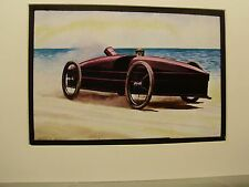 Steam Power  Race Car The Stanley   Color Artist Illustrated Archives Museum