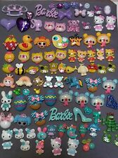 Mixed Irregular 80 pcs Kawaii Cabochon Lot DIY decoden Phone Kit resin flatback