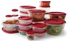 Rubbermaid Easy Find Lid BPA-FREE Plastic Food Storage Containers Set 50 Pc.