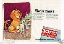 Publicité Advertising 1979 (2 pages) Le magazine 30 Millions d'amis