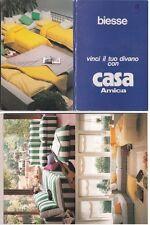 # LISSONE: 8 CARTOLINE STACCABILI  (striscia) del MOBILIFICIO BIESSE- CASA AMICA