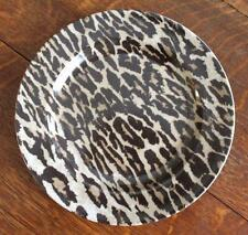 NICK and NORA JUNGLE JIM LEOPARD PRINT Stoneware DINNER PLATE Rare