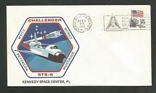 SPACE SHUTTLE CHALLENGER STS-6 APR 4,1983   KSC *