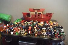 Huge Lot Of PLAYMOBIL Geobra Figures & More