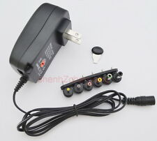 AC/DC regulate power adapter 3V/4.5V/5V/6V/7.5V/9V/12V supply 300MA/0.3A US plug