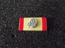 (A11-X18) Ordensspange Bayern Feuerwehr Leistungsabzeichen technik gold-rot
