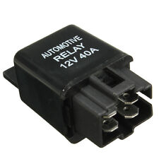 DC 12V 40A 40 AMP Car Auto Automotive Van Boat Bike 4 Pins SPST Alarm Relay New