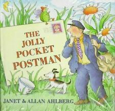 The Jolly Pocket Postman by Allan Ahlberg and Janet Ahlberg (1995, Hardcover)