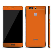 Textured Skin Sticker For HUAWEI P9  Wrap Cover Carbon Matt Metal Wood Leather