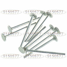 20pc Grinding Head Diamond Bur Mounted Point For Dremel 3MM Shank 10MM Head T