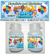 30 BUBBLE GUPPIES BIRTHDAY PARTY FAVORS BUBBLE LABELS