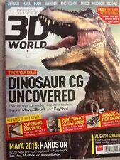 3D World Magazine Dinosaur CG Uncovered June 2014