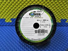 Power Pro Microfilament Braided Fishing Line 65 lb. 1500 yds. Moss Green