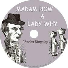 Madam How and Lady Why, Charles Kingsley Audiobook Fiction Unabridged 1 MP3 CD