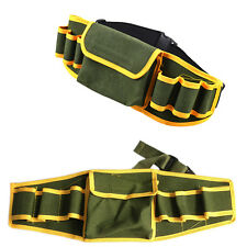 Utility Pocket Pouch Bag Belt Hardware Mechanic's Electrician Canvas Tool BagNEW