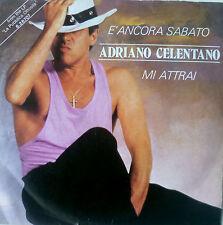 """7"""" 1987 IN VG++ ! ADRIANO CELENTANO : E Ancora Sabato"""