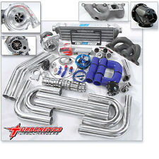 T3/T4 Turbo Kit W/ Turbonetics Turbo Fits Eclipse GST GSX Talon 4G63 2.0L DOHC
