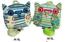 Owl Stripes Harness Mini BackPack