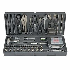 130 pc Tool Set & Case Auto Home Repair Kit SAE Metric LIFETIME Warranty