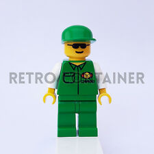 LEGO Minifigures - 1x car003 - Cargo Worker - Omino Minifig Set 6330 6325