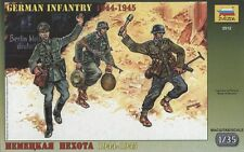 KIT ZVEZDA 1:35 3 SOLDATI GERMAN INFANTRY ALTI 5 CM  ART 3512