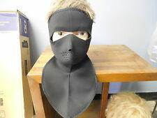 COLD WEATHER NEOPRENE NECK SHIELD FACE MASK FULL COVERAGE NECK & FACE