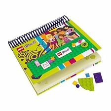 Lego Friends Notebook with Build and Decorate Cover #850595 New In Box Free Ship
