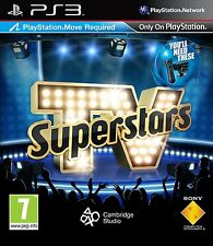 TV Superstars - Move Compatible (PS3) NEW