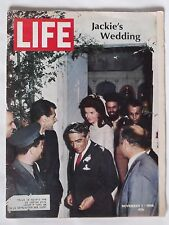 LIFE Magazine ... November 1, 1968 ... Vol. 65, No. 18 ... Jackie's Wedding!!