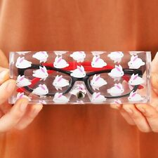 Lovely Clear Sunglasses Glasses Case Spectacle Storage Protection Carry Box New