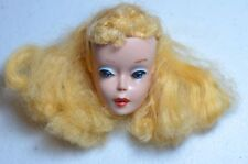 VINTAGE BLONDE #3 OR #4 BLONDE PONYTAIL BARBIE HEAD