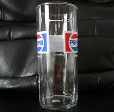PEPSI COLA Glas 0,2 l facettiert Limonade Longdrink Sammlerstück Reklame Werbung