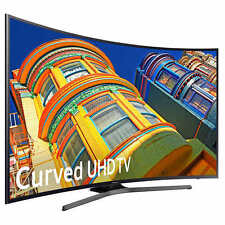 "Samsung 50"" Black LED UHD 4K Curved Smart Ultra HD LED LCD TV UN50KU630DFXZ  NEW"