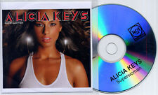 ALICIA KEYS Superwoman 2008 UK 1-track promo test CD + press release