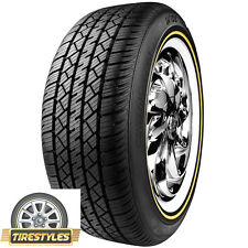 (1) 235/60R16 VOGUE TYRE WHITE W/GOLD 235 60 16 TIRE