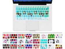 """Green Trees Silicone Keyboard Cover Skin for MacBook Pro Air Retina 13"""" 15"""" 17"""""""