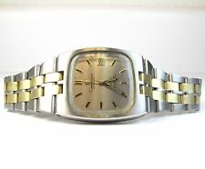 Vintage Omega Constellation Date SS Two-Tone Automatic Gents Wrist Watch