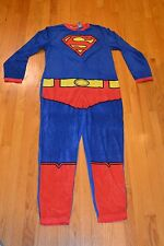 Men's Superman Union Suit Pajamas One Piece Sleepwear Size Small - New With Tag!