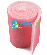 10' ROLL PINK FILTERS FOR SALT WATER AQUARIUMS BULK MEDIA MATERIAL WET DRY PADS