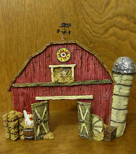 Boyds Bearstones #24200 Ol' MacDonald's Barn...The School Play From Retail Shop