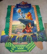 Disney THE LION KING Movie Standee (Rare, Display)  Vintage 1995 New in Box 5'