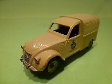 DINKY TOYS - 1:43 CITROEN 2CV ANWB WEGENWACHT - PERFECT CODE 3 - GOOD CONDITION