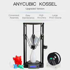 Anycubic Kossel 3D Printer unassemble Pulley Version Big Printed Size Free Gift