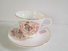 Prince &Princess of Wales Birth of 1st child Charles & Diana  teacup & saucer