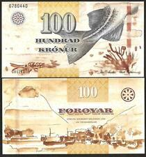 FAEROE ISLANDS 100 Kronur 2011 - UNC - Pick 30