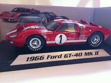 Shelby Collectibles 1966 Ford GT 40 Mk II 1/18 Scale New