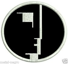 BAUHAUS EMBROIDERED PATCH ROCK POST PUNK GOTH SIOUXSIE THE BANSHEES Metal Negro