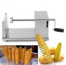 Spiral Potato Chips Maker Twister Slicer Cutter Manual Alloy Tornado Machine